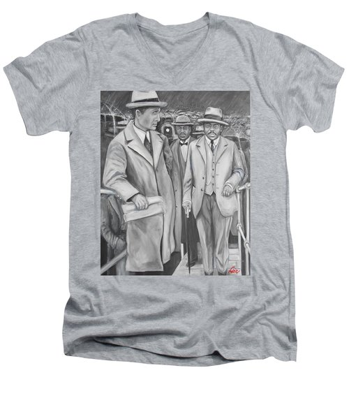 Marcus Garvey Men's V-Neck T-Shirt