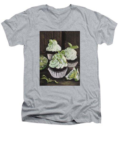 Margarita Cupcakes Men's V-Neck T-Shirt