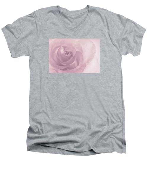 Marilyn's Dream Rose Men's V-Neck T-Shirt by The Art Of Marilyn Ridoutt-Greene