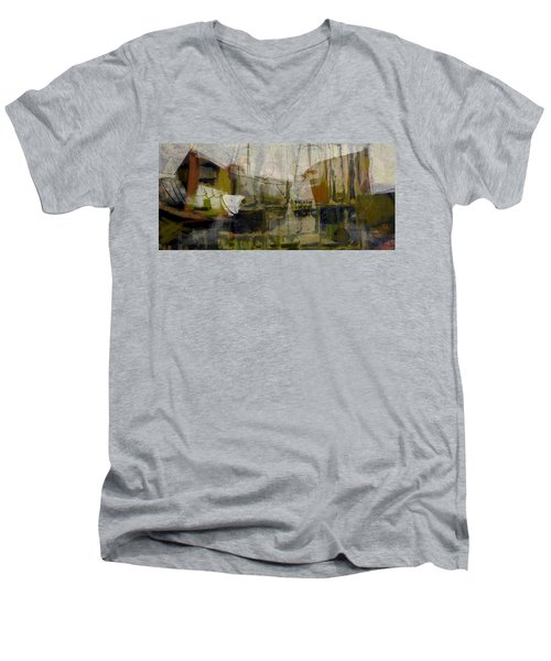 Marina Shapes II Men's V-Neck T-Shirt