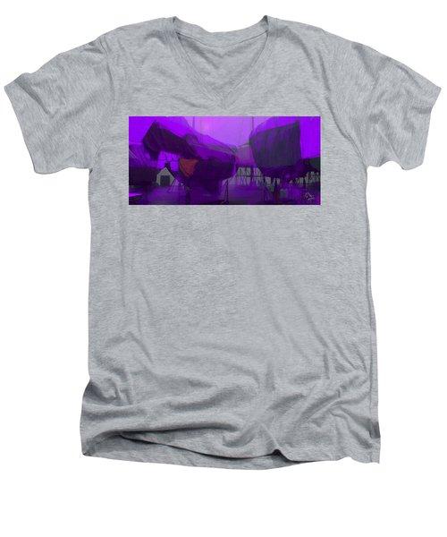 Marina Shapes Men's V-Neck T-Shirt