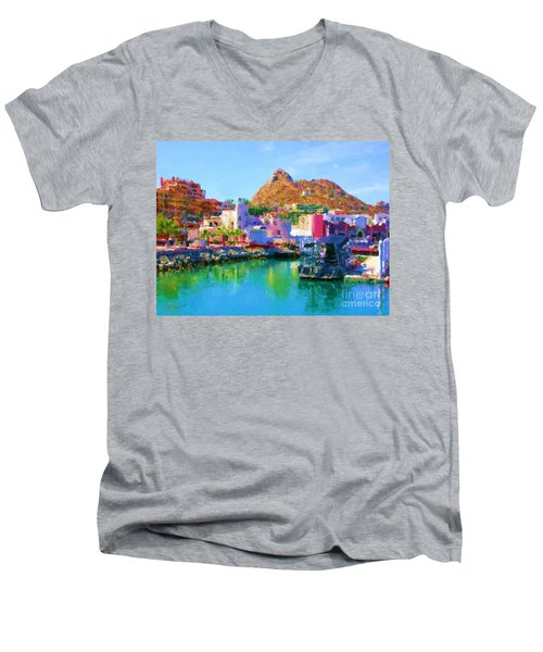 Marina Towards Pedregal II Men's V-Neck T-Shirt