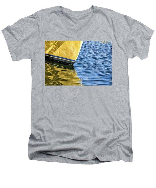 Maritime Reflections Men's V-Neck T-Shirt