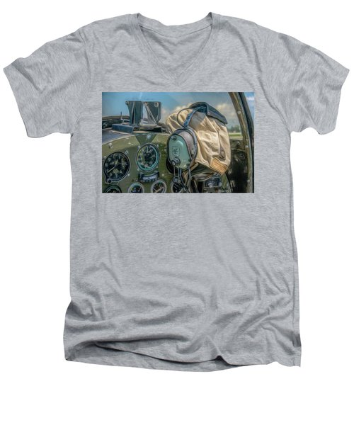 Marine Warbird Men's V-Neck T-Shirt