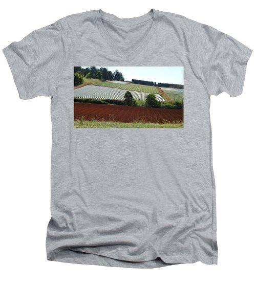 Market Gardening Men's V-Neck T-Shirt