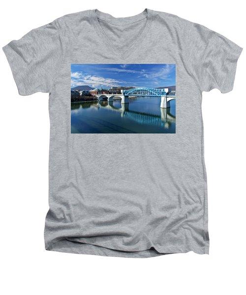 Market Street Bridge  Men's V-Neck T-Shirt