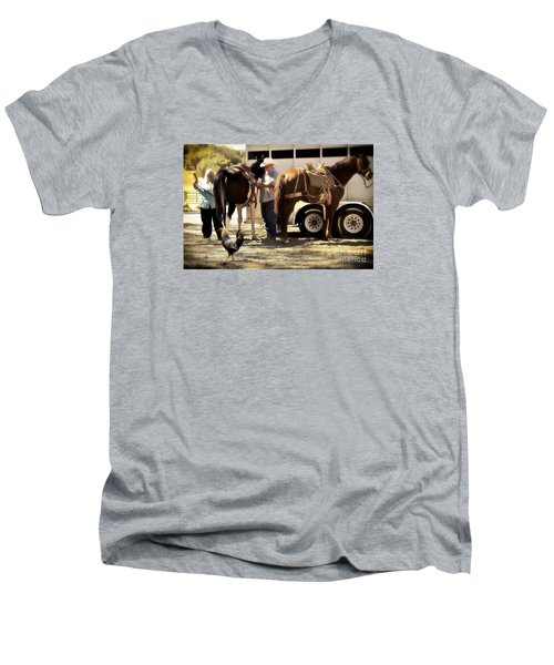 Marriage And The Deer Hunters Men's V-Neck T-Shirt