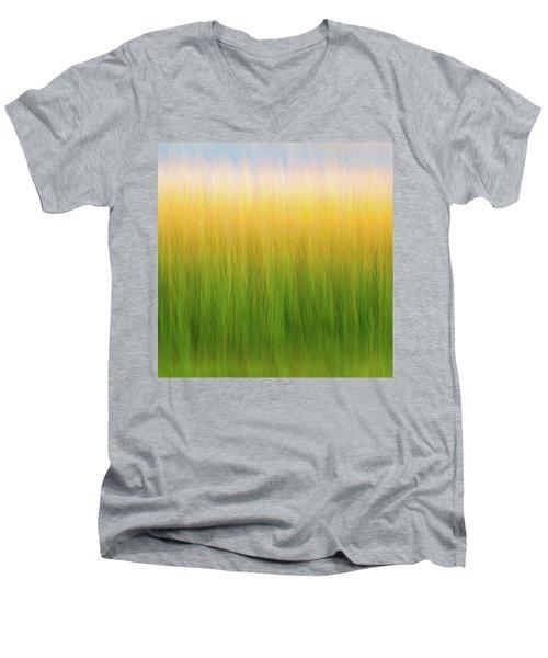 Marsh Grass Men's V-Neck T-Shirt