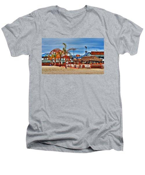 Martells On The Beach - Jersey Shore Men's V-Neck T-Shirt