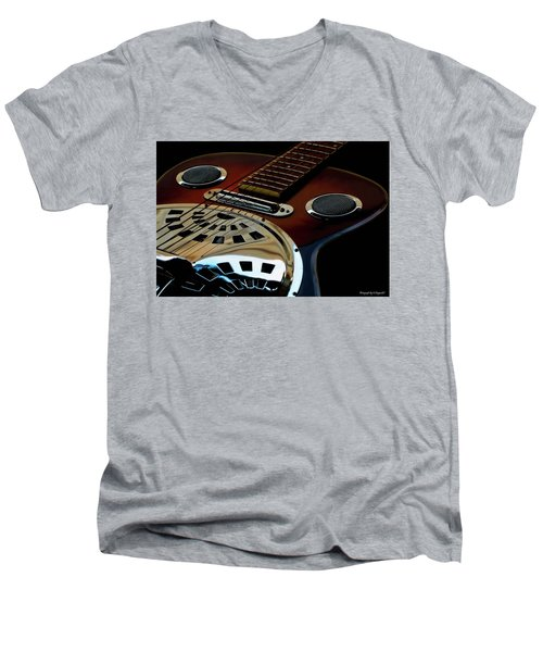 Martinez Guitar 002 Men's V-Neck T-Shirt