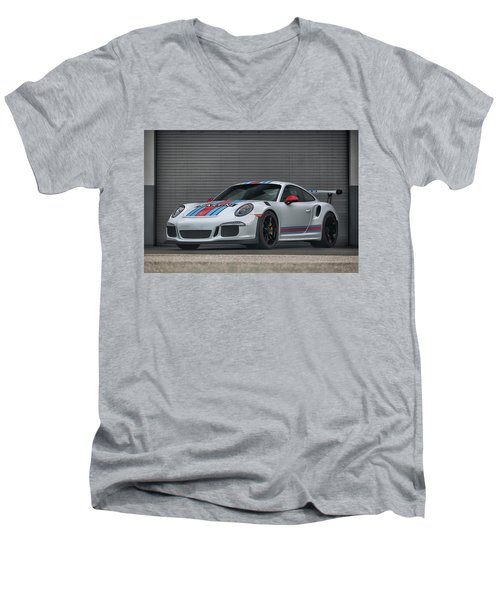 #martini #porsche 911 #gt3rs #print Men's V-Neck T-Shirt