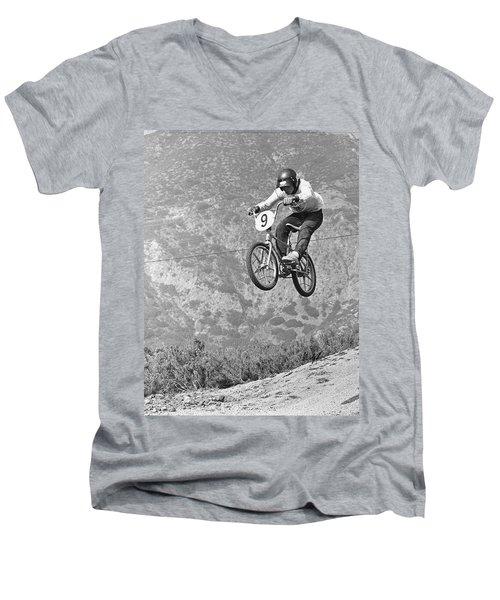 Marvin Church 1974 Men's V-Neck T-Shirt