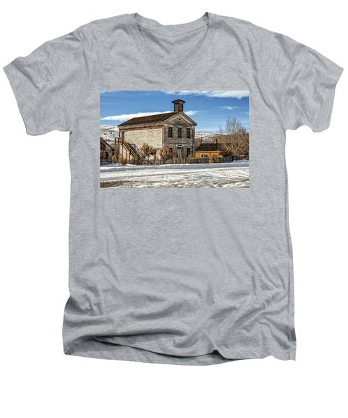 Masonic Lodge School Men's V-Neck T-Shirt
