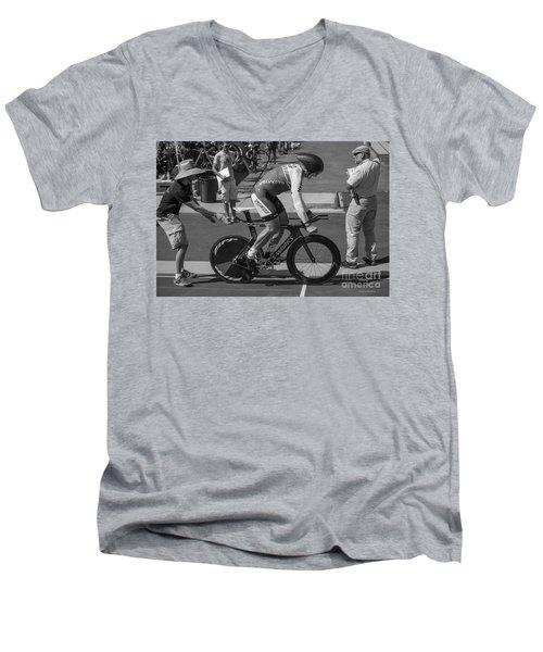 Masters Pursuit Men's V-Neck T-Shirt