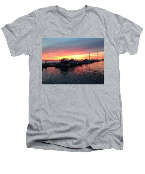 Masts And Steeples Men's V-Neck T-Shirt