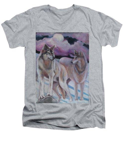 Mates Forever Men's V-Neck T-Shirt