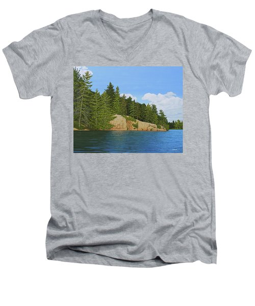 Matthew's Paddle Men's V-Neck T-Shirt