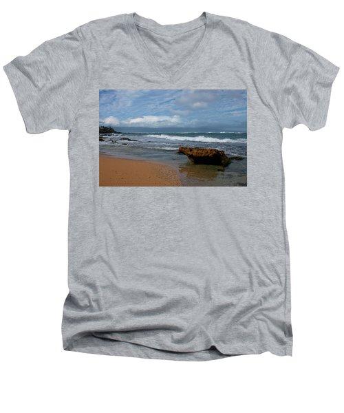 Maui Beach  Men's V-Neck T-Shirt