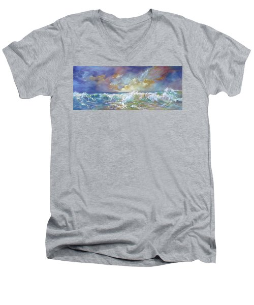 Maui Riptide Men's V-Neck T-Shirt