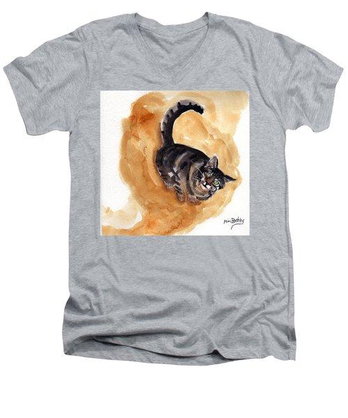Maxi 2 Men's V-Neck T-Shirt