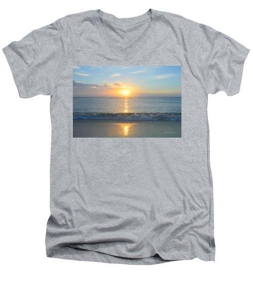 May 23 Sunrise Men's V-Neck T-Shirt