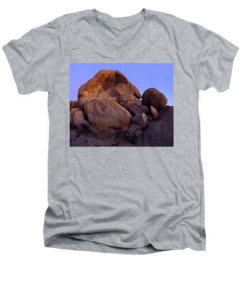 May The Light Be With You Men's V-Neck T-Shirt