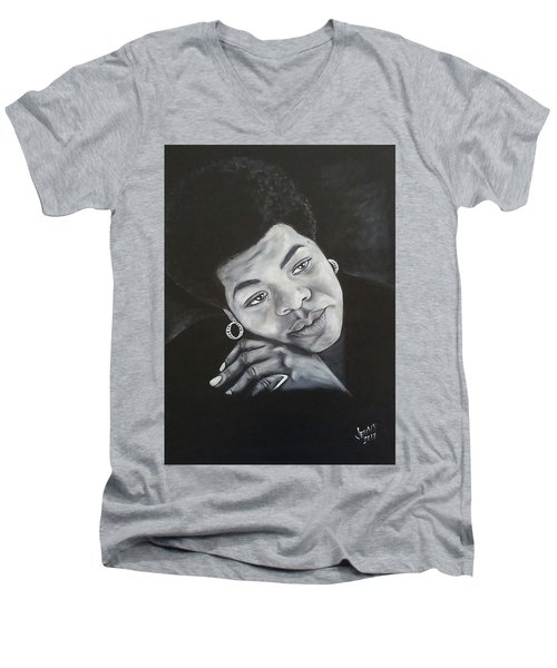 Maya Men's V-Neck T-Shirt