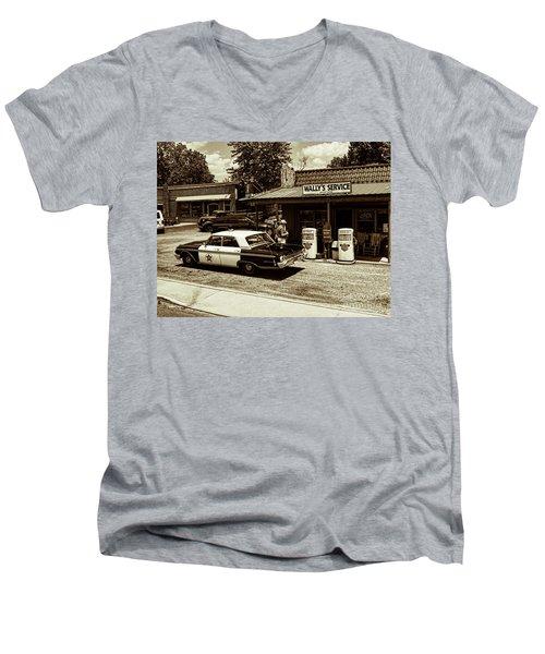 Automobile History Men's V-Neck T-Shirt