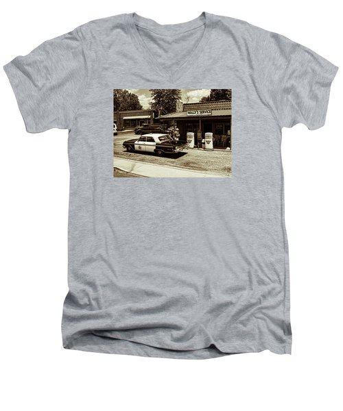 Automobile History Men's V-Neck T-Shirt