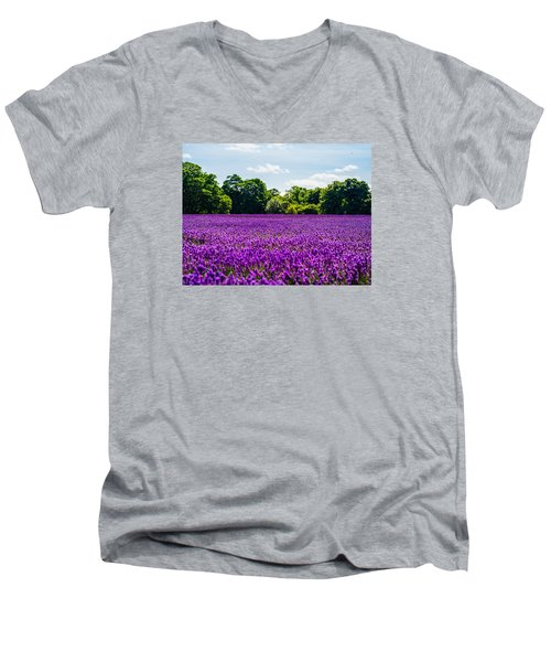 Mayfield Lavender Men's V-Neck T-Shirt