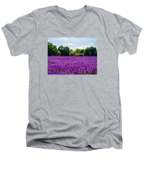 Mayfield Lavender Men's V-Neck T-Shirt