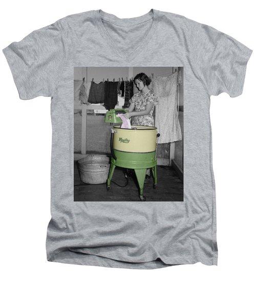 Maytag Woman Men's V-Neck T-Shirt