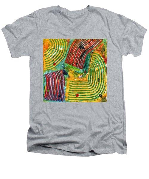 Mazteca Men's V-Neck T-Shirt
