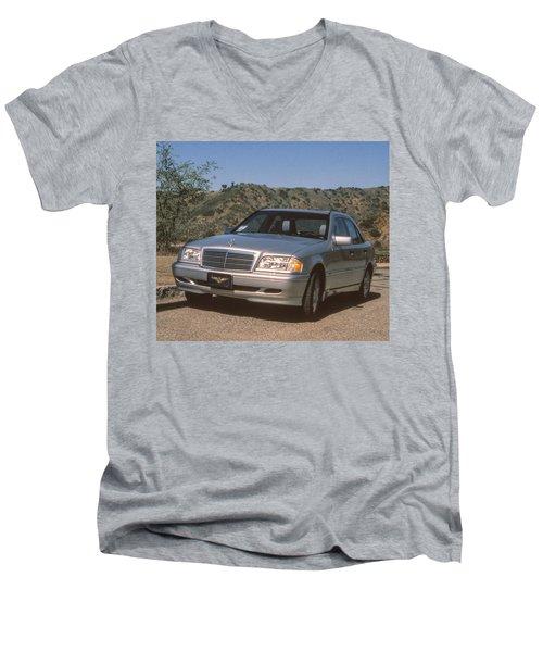 Mbz C280 Birthday Men's V-Neck T-Shirt