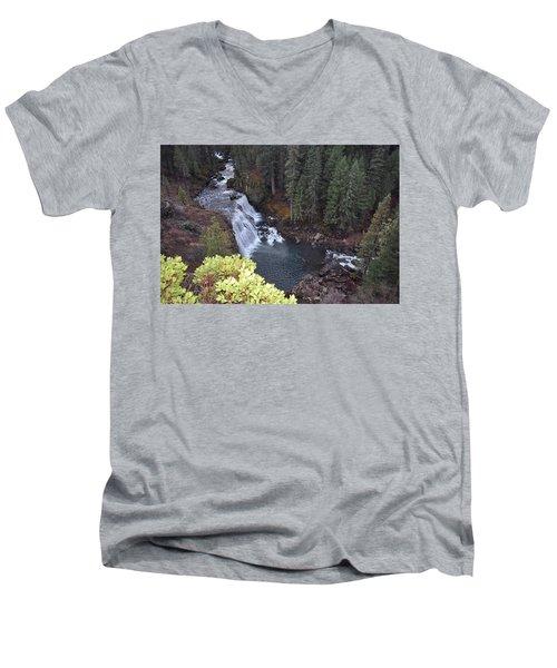 Mccloud River Falls Men's V-Neck T-Shirt