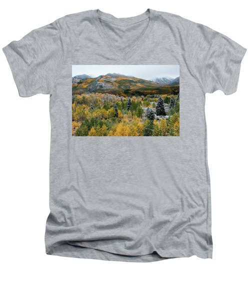 Mcclure Pass - 9606 Men's V-Neck T-Shirt