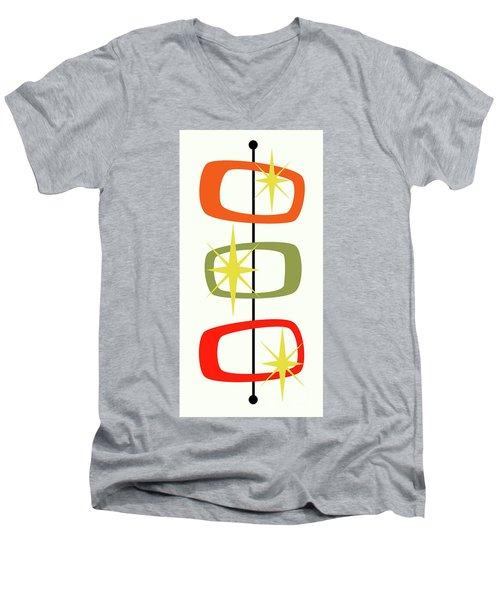 Mcm Shapes 1 Men's V-Neck T-Shirt