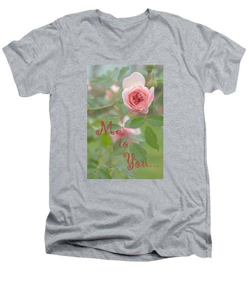 Me To You Men's V-Neck T-Shirt
