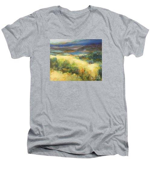 Meadowlands Of Gold Men's V-Neck T-Shirt