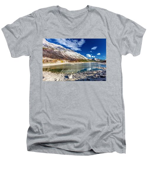Medicine Lake Jasper Men's V-Neck T-Shirt