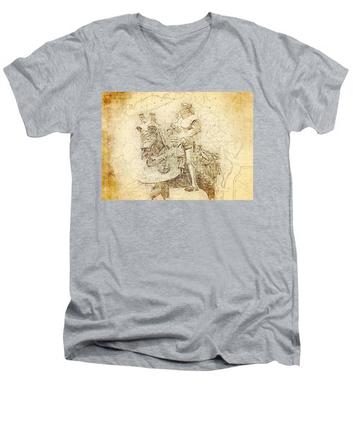 Medieval Europe Men's V-Neck T-Shirt