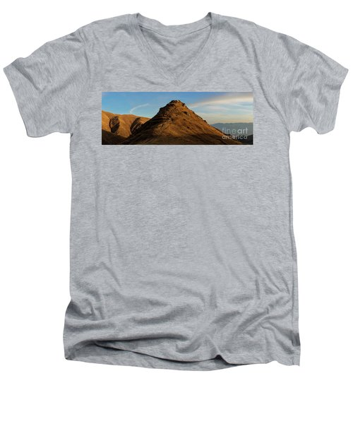 Medieval Proshaberd Fortress On The Top Of The Hill, Armenia Men's V-Neck T-Shirt