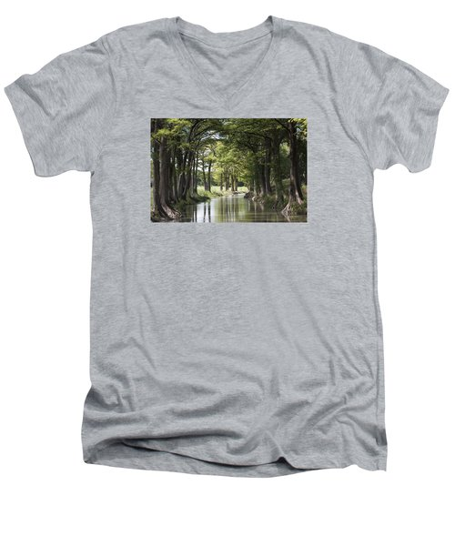 Medina River Men's V-Neck T-Shirt
