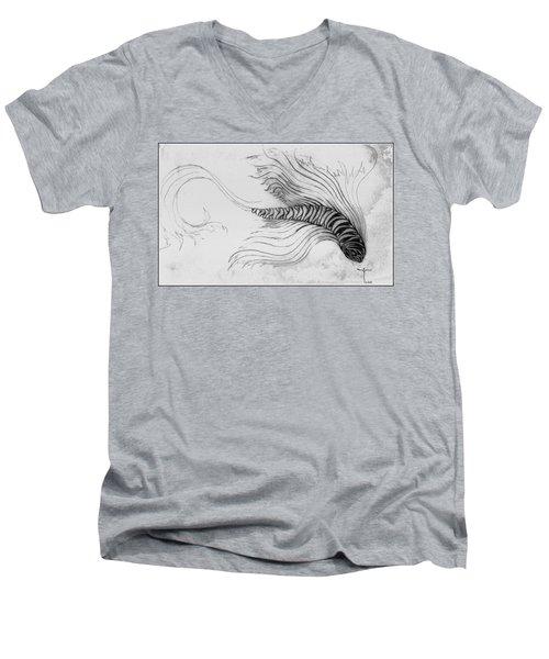 Megic Fish 3 Men's V-Neck T-Shirt