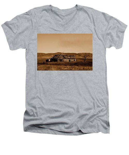 Melancholy  Men's V-Neck T-Shirt
