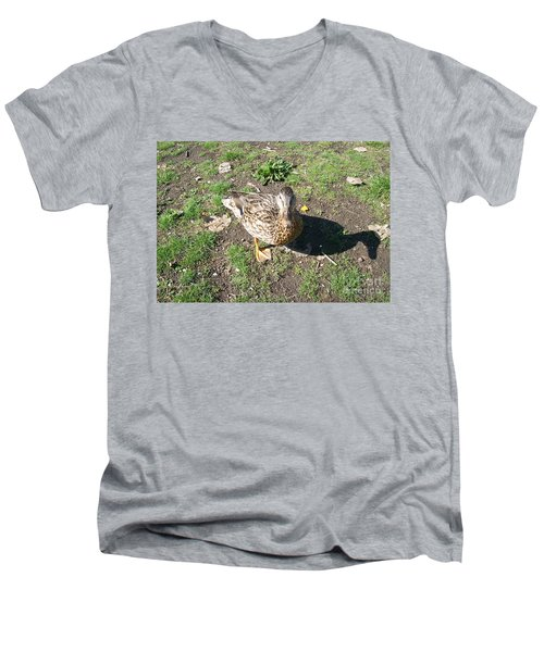 Melanie Tweed Visit At Boundary Bay Men's V-Neck T-Shirt