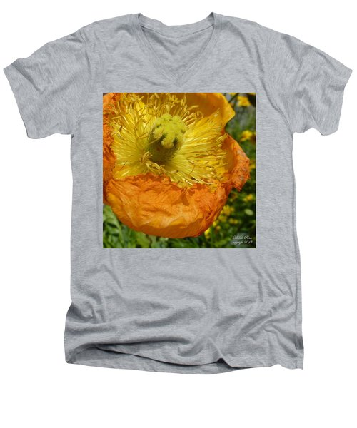 Mellow Yellow - Signed Men's V-Neck T-Shirt