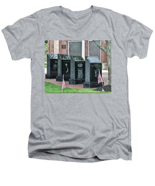 Memorial Day One Men's V-Neck T-Shirt