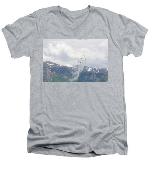 Memorial Pass Men's V-Neck T-Shirt