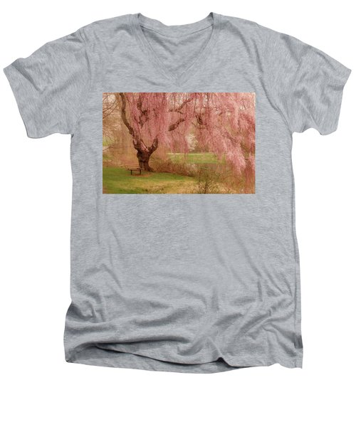 Memories - Holmdel Park Men's V-Neck T-Shirt